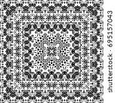 abstract seamless pattern ... | Shutterstock .eps vector #695157043