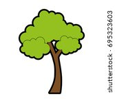 tree icon image | Shutterstock .eps vector #695323603