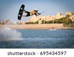 el gouna  egypt   november 8 ... | Shutterstock . vector #695434597