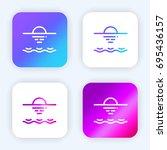 sea bright purple and blue...