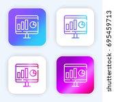 monitor bright purple and blue...
