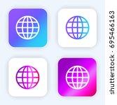 internet bright purple and blue ...