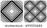 seamless of line pattern on... | Shutterstock .eps vector #695552683