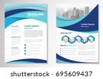 template vector design for... | Shutterstock .eps vector #695609437