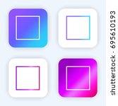 square bright purple and blue...