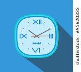 clock vector | Shutterstock .eps vector #695620333