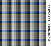 seamless vector square pattern. ... | Shutterstock .eps vector #695642683