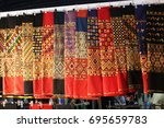 thailand  august 2017   thai... | Shutterstock . vector #695659783