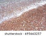 stone beach | Shutterstock . vector #695663257