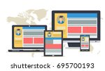 responsive web design on...