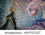 abstract painting background....   Shutterstock . vector #695707237