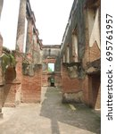 Ruined Inner Rooms Of Lucknow...