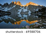 Alpen Glow At Sunset Hits The...