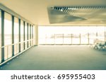 abstract blurred image of... | Shutterstock . vector #695955403