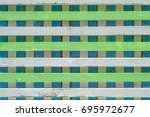 vintage color wood wall texture ... | Shutterstock . vector #695972677