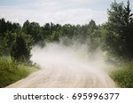Dusty Country Road