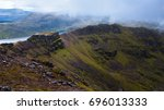 Majestic Mountain Ridge And...