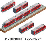 Isometric Train Tracks And...