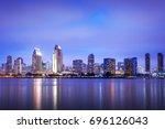 san diego  california  usa... | Shutterstock . vector #696126043
