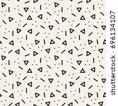 vector seamless pattern.... | Shutterstock .eps vector #696134107