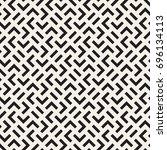 vector seamless pattern. modern ... | Shutterstock .eps vector #696134113