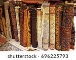 persian carpets or iranian... | Shutterstock . vector #696225793