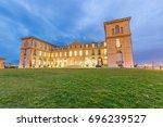 marseille palais du pharo night ... | Shutterstock . vector #696239527