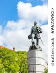 ferdinand magellan statue in... | Shutterstock . vector #696239827