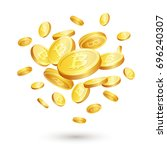 vector illustration of... | Shutterstock .eps vector #696240307