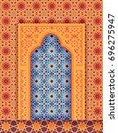 traditional islamic... | Shutterstock . vector #696275947