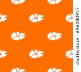 steak pattern repeat seamless... | Shutterstock .eps vector #696280957