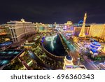 las vegas  usa   july 25  2017  ... | Shutterstock . vector #696360343