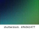 polygons blue green. hexagons... | Shutterstock .eps vector #696361477