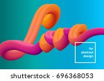 vector background. inscription... | Shutterstock .eps vector #696368053