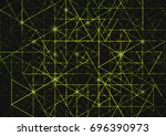 abstract background with... | Shutterstock . vector #696390973