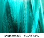 turquoise abstract background.  | Shutterstock . vector #696464347