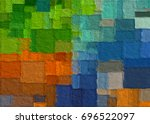 graphic illustration abstract... | Shutterstock . vector #696522097