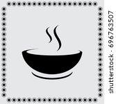 soup vector icon | Shutterstock .eps vector #696763507