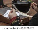 Hand Of Napoleonic Epoch...