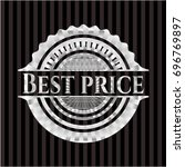 best price silvery emblem or... | Shutterstock .eps vector #696769897
