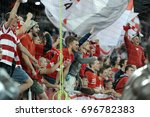 russia  moscow  august 2015  ... | Shutterstock . vector #696782383