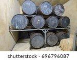 mauritius  may 24  2017. rum... | Shutterstock . vector #696796087