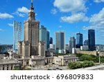 warsaw  poland.15 august 2017.... | Shutterstock . vector #696809833