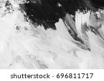 black and white abstract... | Shutterstock . vector #696811717