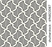 abstract ornate striped...   Shutterstock .eps vector #696823087