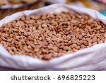 bean is a common name for large ... | Shutterstock . vector #696825223