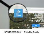 milan  italy   august 10  2017  ...   Shutterstock . vector #696825637