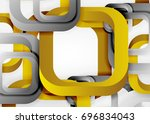 squares geometric shapes in... | Shutterstock .eps vector #696834043