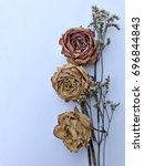 Dry Roses Decoration With Spac...