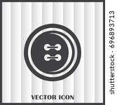 sewing button web icon | Shutterstock .eps vector #696893713